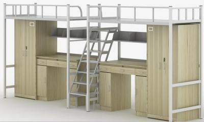 天津理工大学公寓床样式