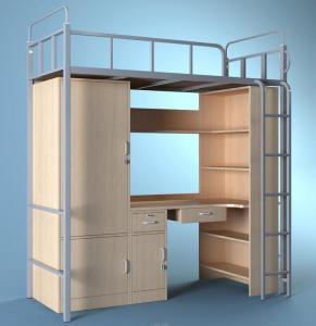 天津商务职业学院中标公寓床样式