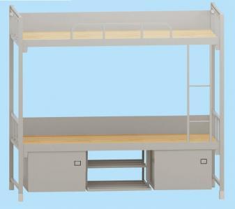 双层床(钢塑制式营具)